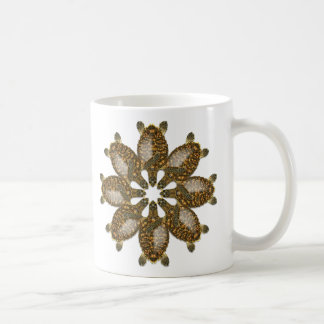 Kaleidoscopic Hawksbill Sea Turtle Mug
