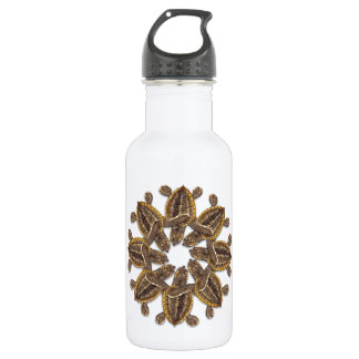 Kaleidoscopic Loggerhead Sea Turtle Water Bottle
