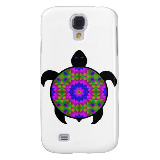 Kaleidoscopic Mandala Turtle Design