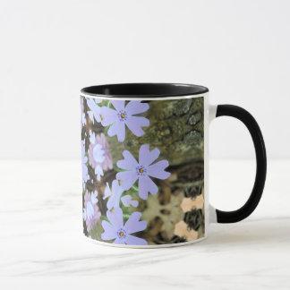 Kaleidoscopic Phlox Mug