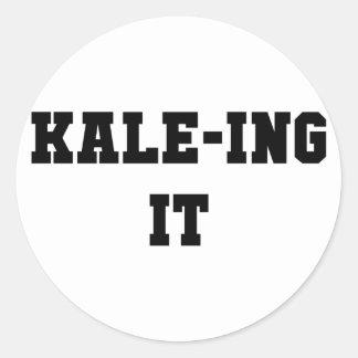 Kaleing It Classic Round Sticker
