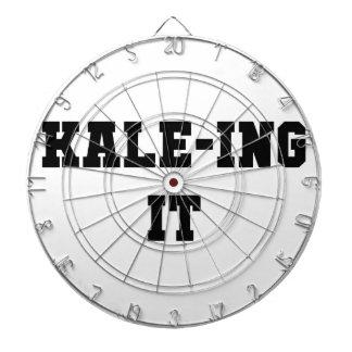 Kaleing It Dartboard