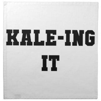 Kaleing It Napkin