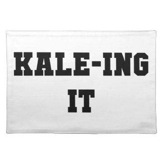 Kaleing It Placemat
