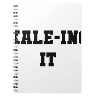 Kaleing It Spiral Notebook