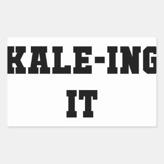 Kaleing It Sticker