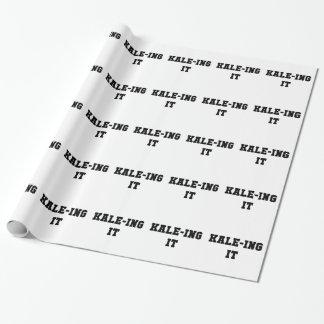 Kaleing It Wrapping Paper