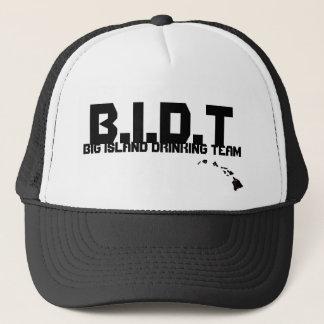 kalenaidea, B.I.D.T, BIG ISLAND DRINKING TEAM Trucker Hat