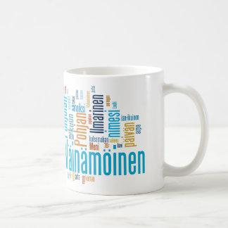 Kaleva Wordcloud Mug