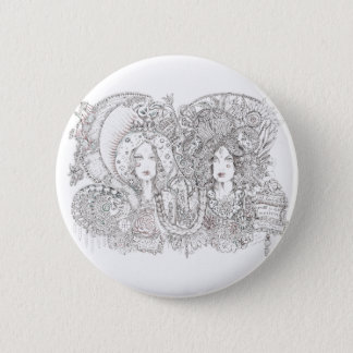 kali and guadalupe 2 inch round button