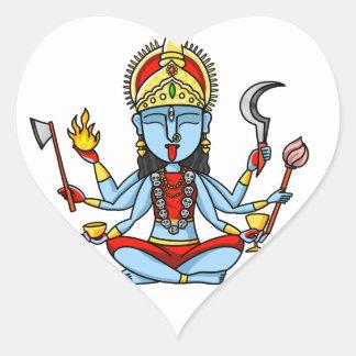 Kali Heart Sticker