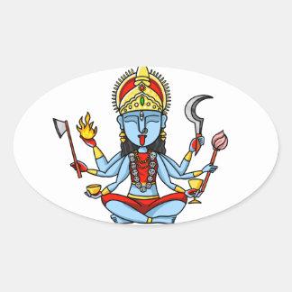 Kali Oval Sticker