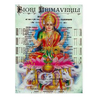 Kali Postcard