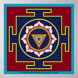 Kali Puja Yantra Poster