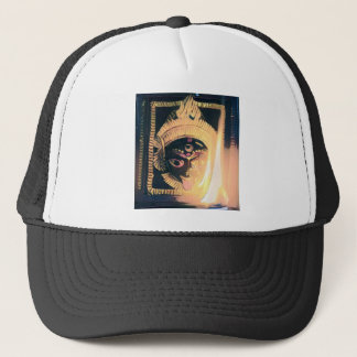 Kali the dark mother trucker hat