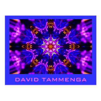 KaliBluePink  DAVID TAMMENGA Postcard