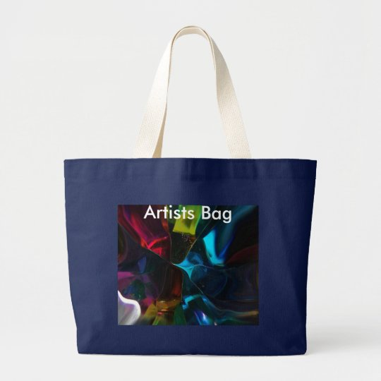 Kalidescope Large Tote Bag