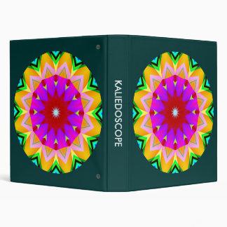 Kaliedoscope Mandala 02 3 Ring Binder