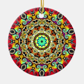 Kaliedoscope Ornament Multicolored