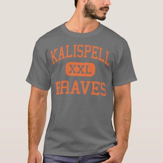 Kalispell - Braves - Junior - Kalispell Montana T-Shirt