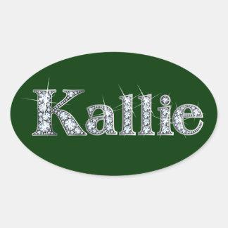 """""""Kallie"""" Diamond Bling Sticker"""