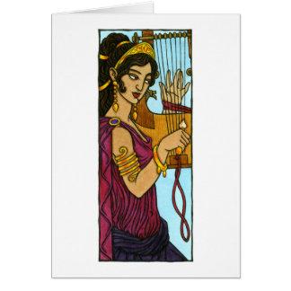 Kalliope Greeting Card