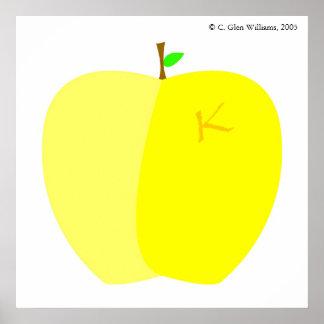 Kallixti Apple Poster