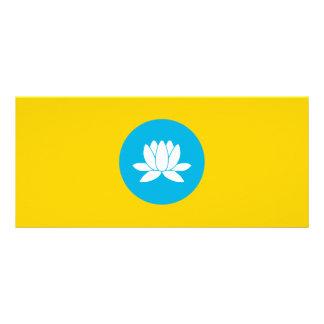 Kalmykia Flag Rack Card