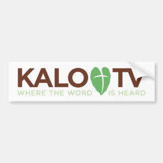 KALO TV - Bumper Sticker