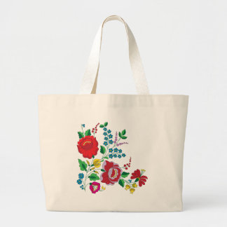 Kalocsa Embroidery Large Tote Bag