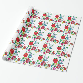 Kalocsa Embroidery Wrapping Paper