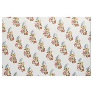 Kalocsai floral pattern fabric