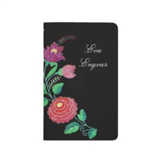 Kalocsai Flower Stem Journal