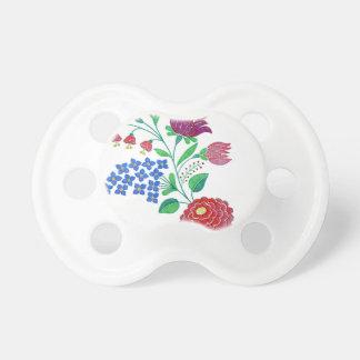Kalocsai Flower Stem Pacifier