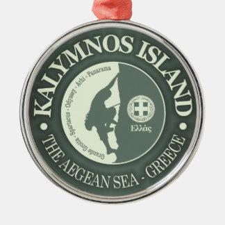 Kalymnos (Climbing) Metal Ornament