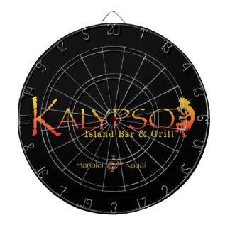 Kalypso Colourful Logo With Rainbow Sea Turtle Dart Board