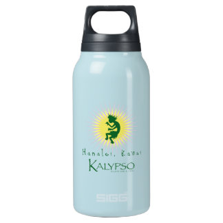 Kalypso Kane Yellow Sunburst Insulated Water Bottle
