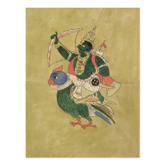 Kama, God of Love, 18th-19th century Postcard