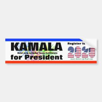 KAMALA  FOR PRESIDENT - 2020 - BUMPER STICKER