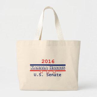 Kamala Harris 2016 Large Tote Bag