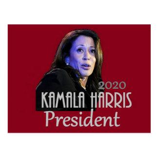 Kamala Harris 2020 President Postcard