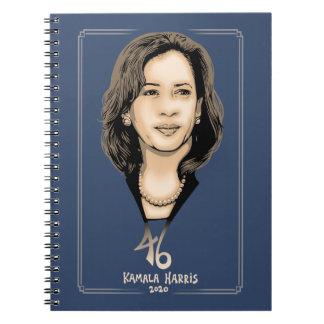 Kamala Harris 46 Notebook