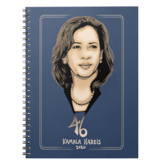 Kamala Harris 46 Spiral Notebook