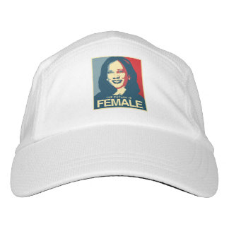 Kamala Harris Propaganda - Future is Female - Hat