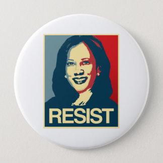 Kamala Harris Propaganda - RESIST - 4 Inch Round Button