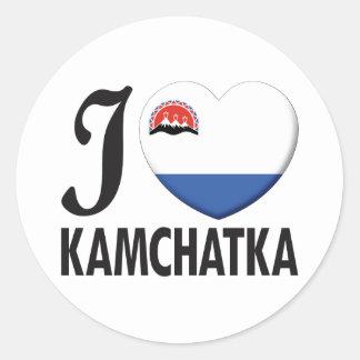 Kamchatka Love Classic Round Sticker