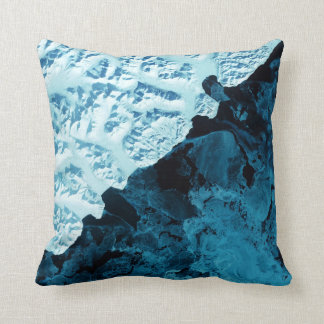 Kamchatka Peninsula Satellite Pillow