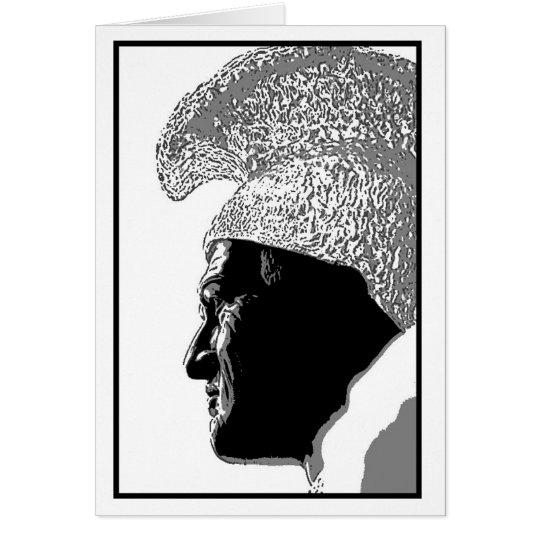 Kamehameha Head Card