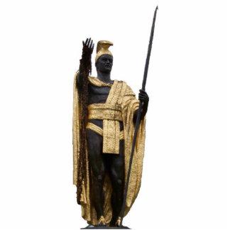 Kamehameha The Great Standing Photo Sculpture