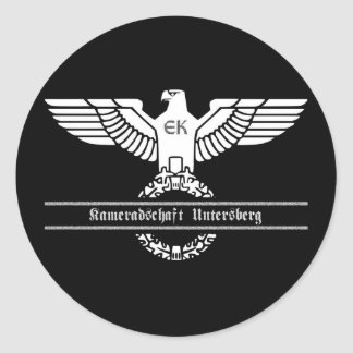 Kameradschaft Untersberg Classic Round Sticker